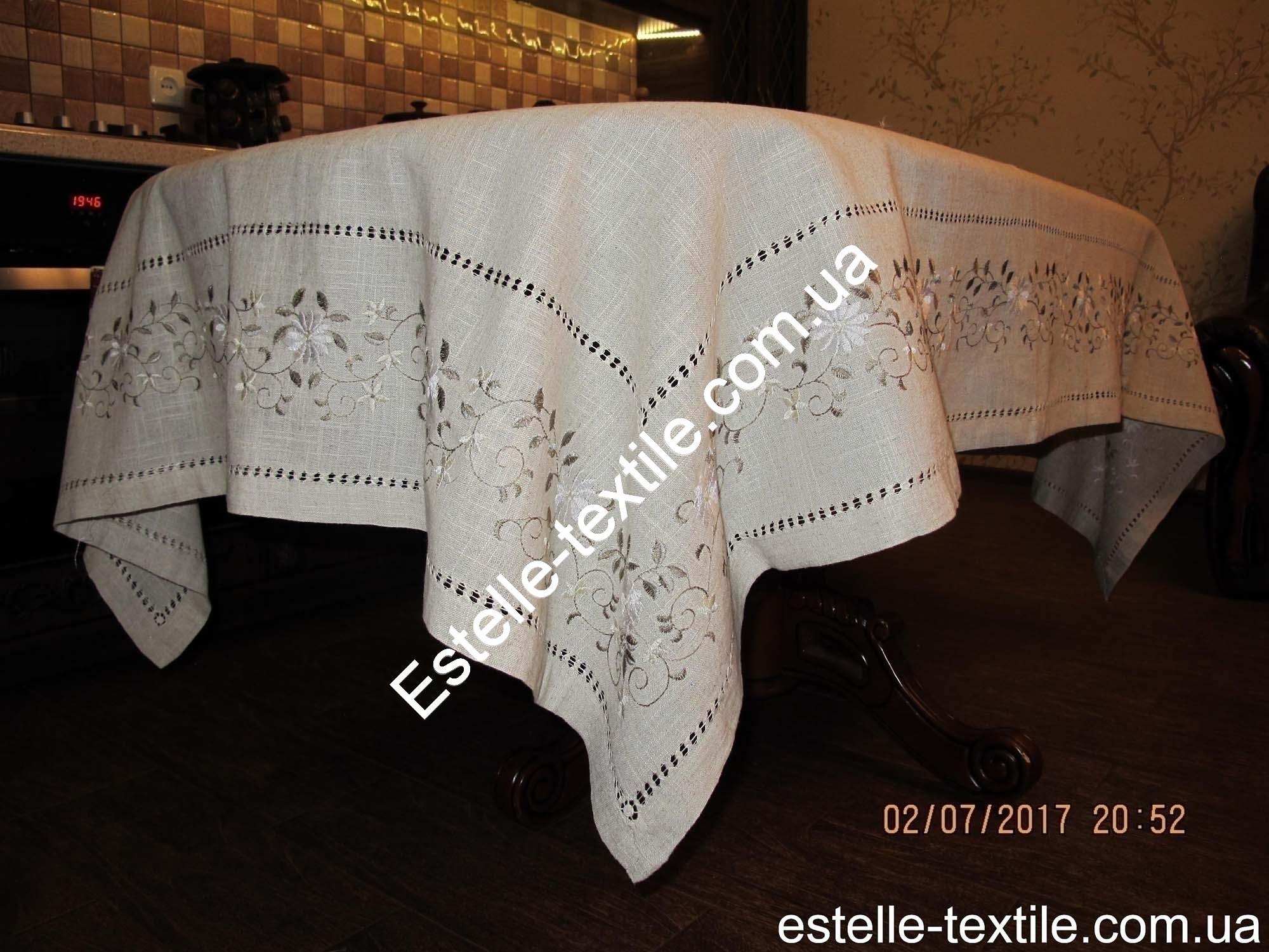 Скатертина-лляна-з-вишивкою-150×220 photo