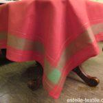 Скатертина-лляна-червона-140х180 photo